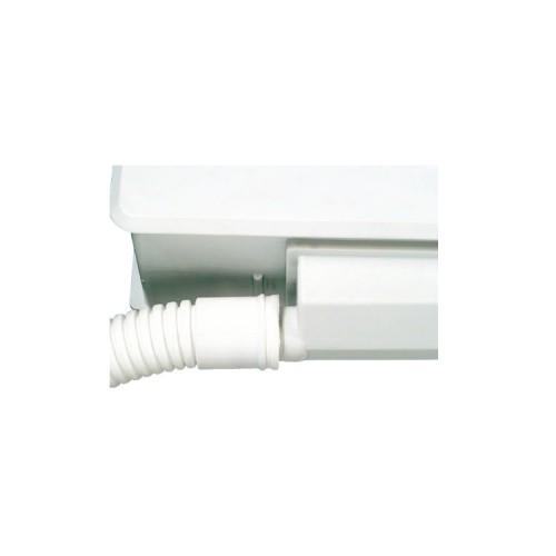 Tubo desagüe aire acondicionado - corrugado de Ø16 con macho/hembra Ø18-20