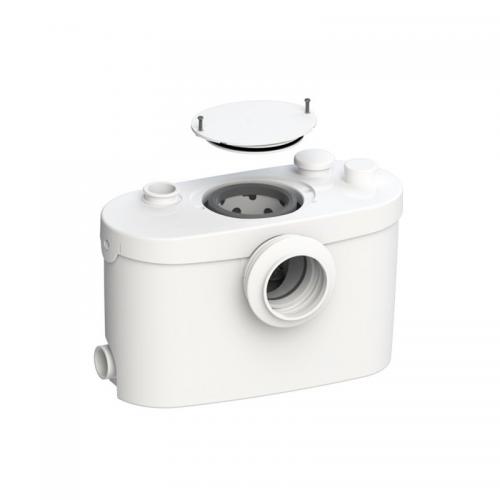 Bomba trituradora Sanitrit Sanipro Up SFA Triturador WC, ducha, lavabo y bidé salida horizontal
