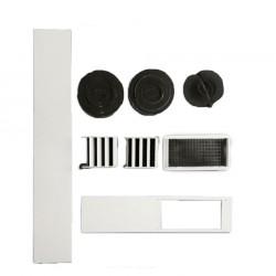 Kit de ventana para aire portátil Daitsu APD 12X  y APD 12X F/C