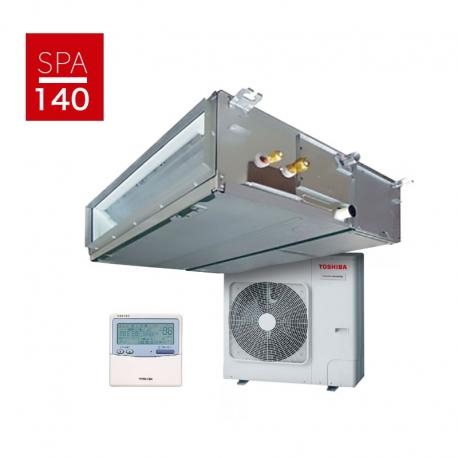 Aire acondicionado Toshiba SPA Inverter SDI 140 PLUS (R32) conductos - Monofásica
