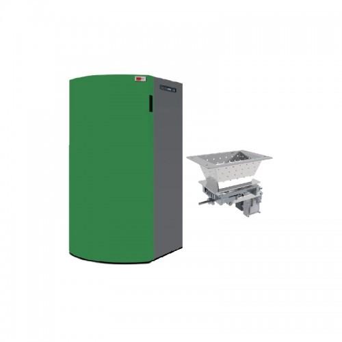 Caldera de pellets autolimpiable AMG Boiler 20 A para agua y calefacción
