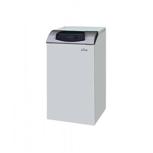 Caldera de gasoil de condensación Ferroli SILENT D eco 30 COND SI UNIT para calefacción y acs