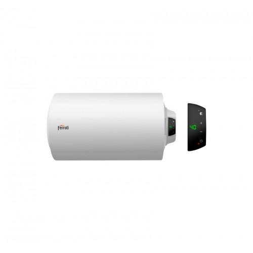 Termo eléctrico Ferroli TIBER B 80 H horizontal SMART - electrónico digital