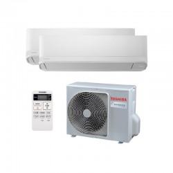 Aire Acondicionado 2x1 Inverter Toshiba 5,2 kW SEIYA 13 + 10 (R32)