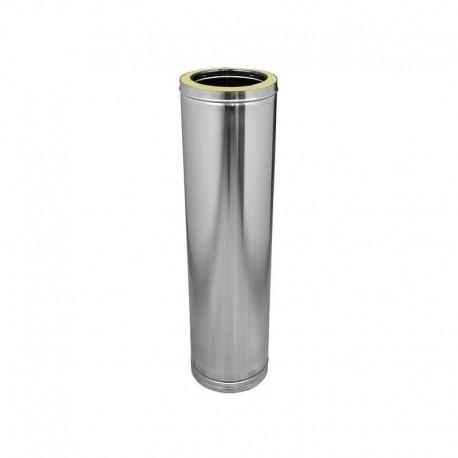 Tubo acero inoxidable Dinak de doble pared de Ø130 mm DWJ policombustible