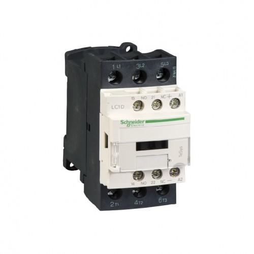 Contactor Schneider LC1D25BD 24VDC 25A, 3p 440V tipo AC