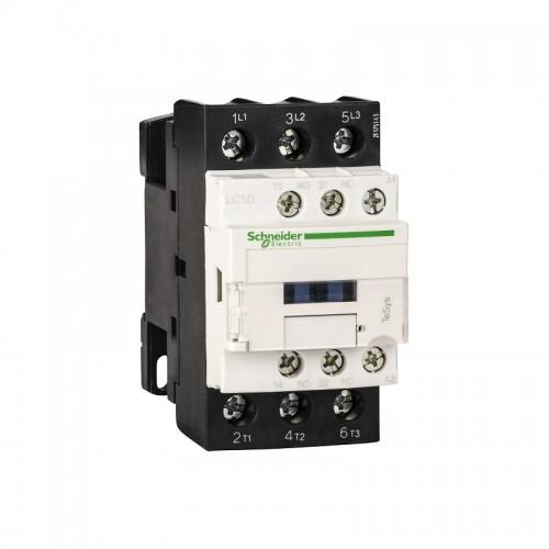 Contactor Schneider LC1D09F7 Tesys D - 3P(3 NA) - AC-3 440V 9 A - 110 V CA bobina