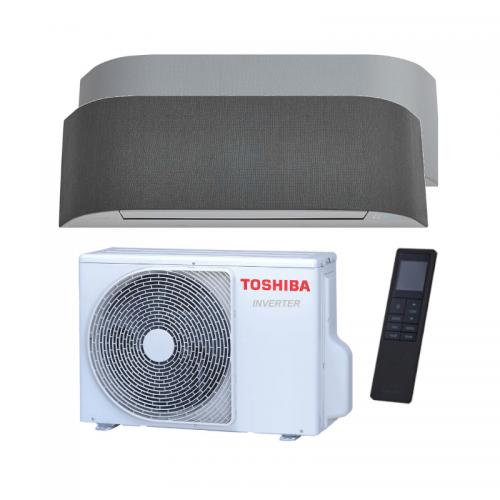 Aire Acondicionado Toshiba HAORI 10 con revestimiento de tela dos colores
