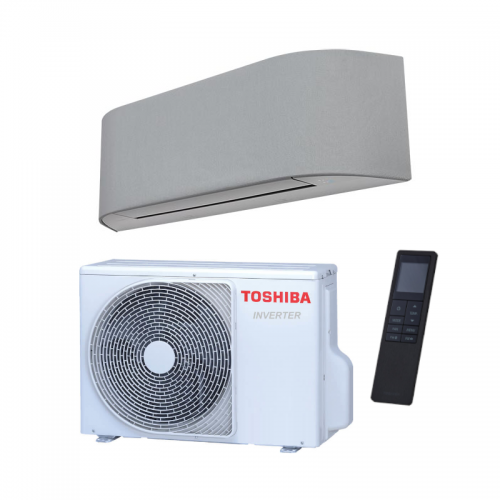 Aire acondicionado split Inverter Toshiba HAORI 16 de 4.6 kW con revestimiento de tela