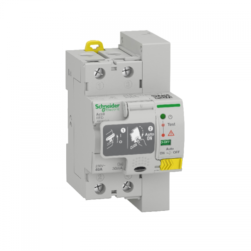 Diferencial rearmable Schneider 2p 63 A 30mA RED 63 A