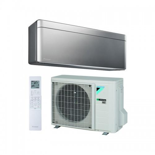 Aire acondicionado WiFi DAIKIN Stylish TXA25BS color plata A+++/A+++