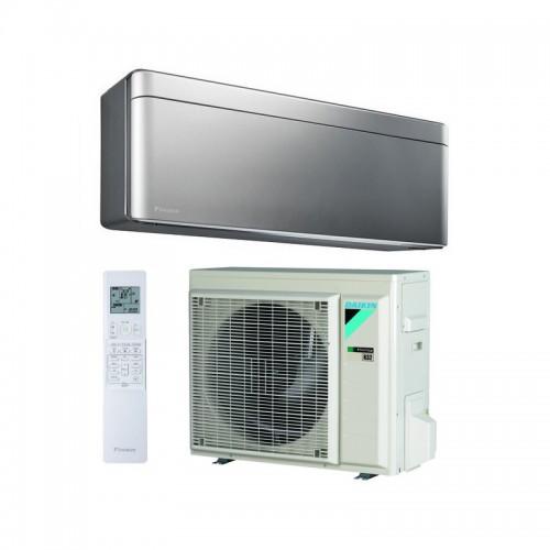 Aire acondicionado WiFi DAIKIN Stylish TXA50BS color plata A++/A++