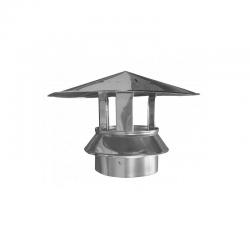Sombrerete de acero inoxidable DP 304 de 200 mm Dinak