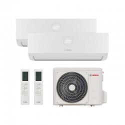 Aire Acondicionado 2x1 WiFi Bosch Multi Split Climate R32 de 5.3 kW (3.5+2.6 kW)