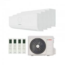 Aire Acondicionado 4x1 WiFi de 9000 frigorías Bosch Climate R32 UI 3.5+(x3)2.6 kW