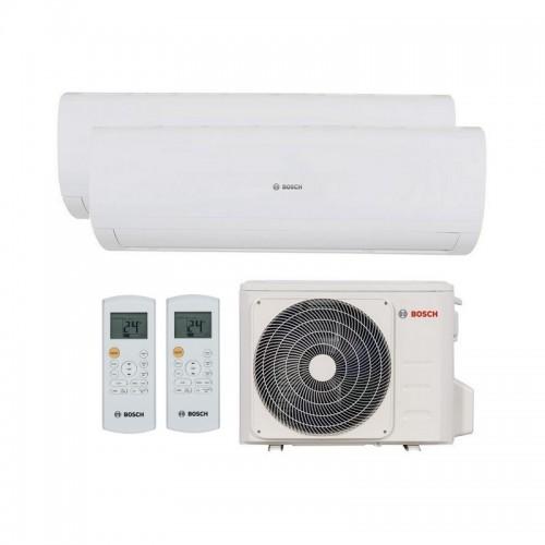 Aire Acondicionado 2x1 silencioso Bosch Set Multi Climate 5000 R32 de 3.5+2.6 kW