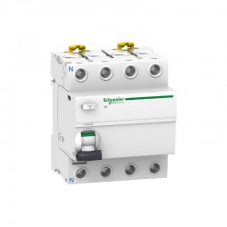 Interruptor diferencial 4p 25A 300mA clase AC Schneider A9R84425