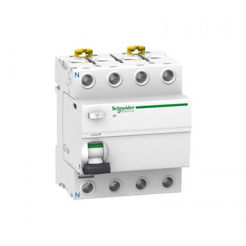 Interruptor diferencial 4p 40A 300mA clase AC Schneider A9R84440