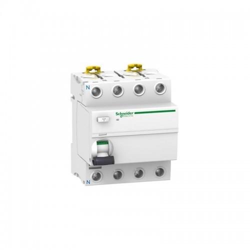 Interruptor Diferencial Superinmunizado 4p 40A 30mA clase A SI Schneider A9R61440