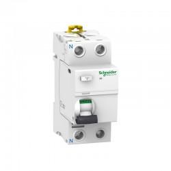 Interruptor Diferencial 2P 25A 300 mA Clase AC Schneider A9R84225