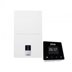 Caldera de condensación FERROLI Bluehelix HITECH RRT 28C N/P + Kit + Termostato WiFi