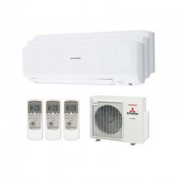 Aire Acondicionado 3X1 Inverter de 6000 frigorías Mitsubishi SCM71ZS-W 3.5 + 3.5 + 2.5 kW