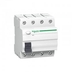 Interruptor diferencial trifásico 63A 300 mA Schneider A9Z06440