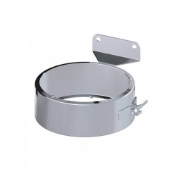 Anclaje intermedio para tubo de doble pared en acero inoxidable Dinak DW Pellets