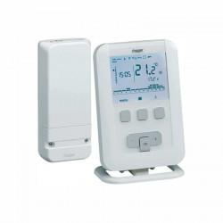 Termostato digital ambiente inalambrico Hager EK560