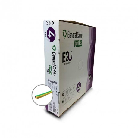 Cable eléctrico unifilar H07V-K 4 mm2 100 metros
