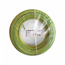 Cable eléctrico libre de halógenos unifilar EXZHELLENT-XXI 16mm2 100 metros