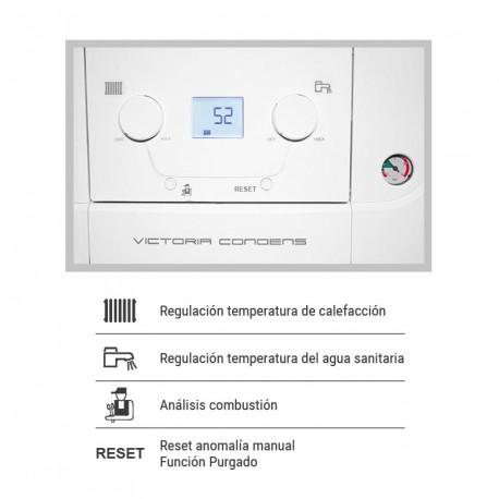 Funciones Control Caldera Baxi Victoria Condens