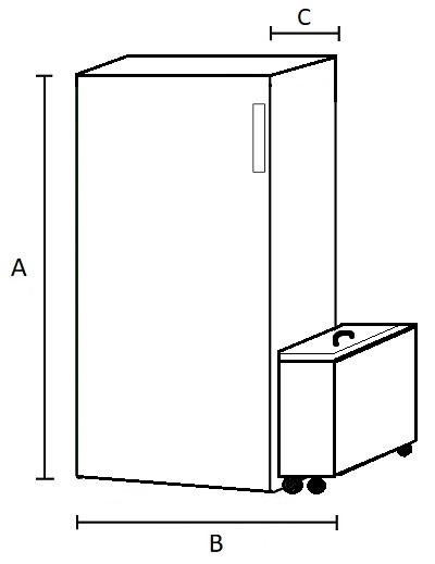 Dimensiones Caldera de Pellets con limpieza automática y compactador de cenizas AMG Boiler 24 PA