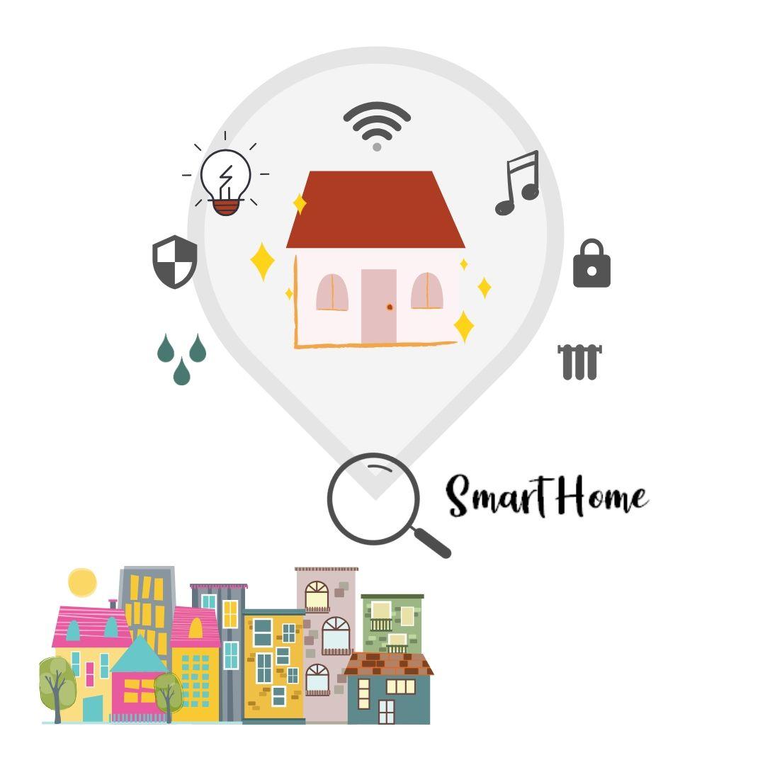 Cómo funciona Smart Home - conectividad